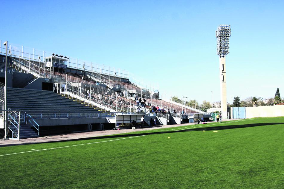 האצטדיון העירוני בימים יפים יותר