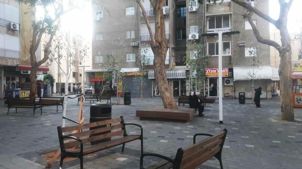 המרכז המסחרי בשכונת הנביאים
