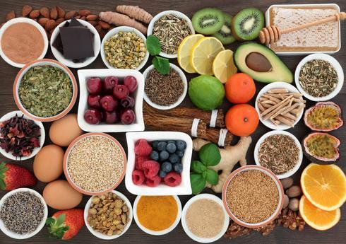 להכניס לתפריט מזונות בסיסיים, להתרחק ממזונות חומציים