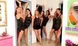 בנות נבחרת ההתעמלות האמנותית של ישראל מתכוננות לאולימפיאד טוקיו 2021