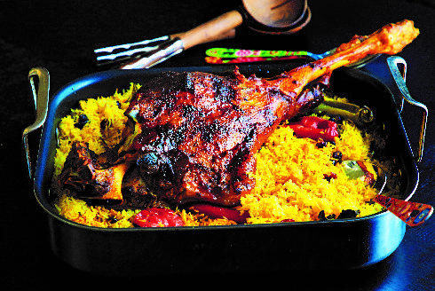 חגיגת טעמים משפחתית. שוק טלה, אורז ותבלינים