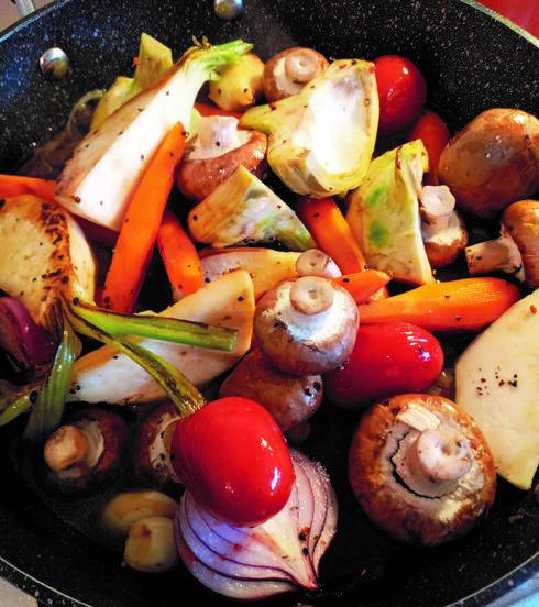 בשר לחוד, ירקות לחוד