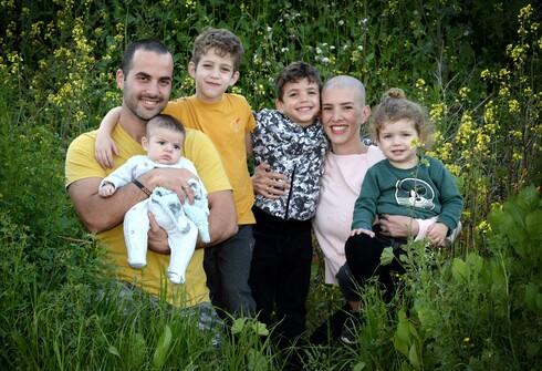 עדי עם צביקה והילדים