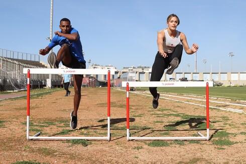 שני משולם ופריאל רדה, אלופת ואלוף ישראל באתלטיקה, גרים באותה עיר, משתייכים לאותו מועדון ומתחרים באותו מקצוע