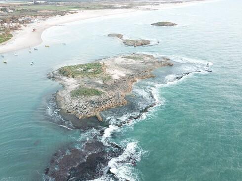 אחד החופים שנפגע מדליפת הנפט