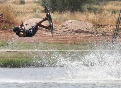 ליאור סופר, אלוף העולם, עושה סקי מים מאז שהוא בן 11 ולא מפסיק להתרגש