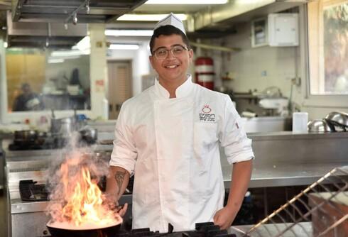 """ליאל ארזי. """"רוצה לפתוח מסעדה ולהיות כמו השף אסף גרניט"""""""