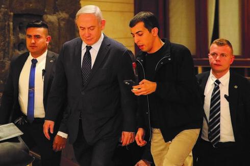 עם ראש הממשלה לשעבר בנימין נתניהו
