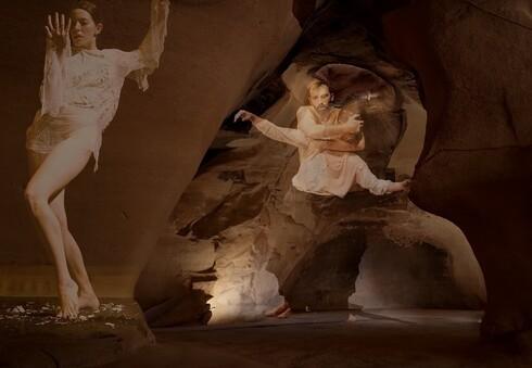וידאו ארט במערת הפעמון