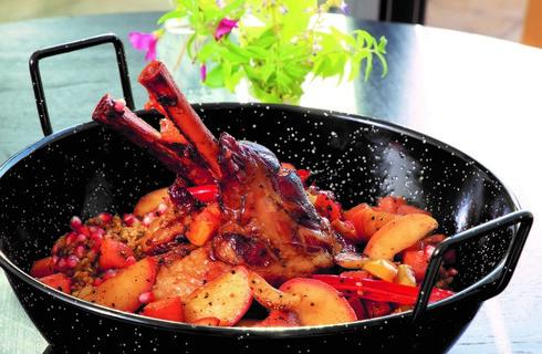 אוסובוקו בתנור על פריקה