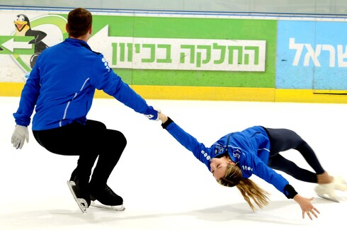 יבגני קרסנופולסקי והיילי קופס השיגו את הקריטריון האולימפי בהחלקה אמנותית וייצגו את ישראל במשחקי החורף בבירת סין
