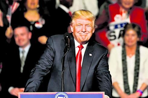 """טראמפ. """"אני רואה מולי אדם שקול""""   צילום: שאטרסטוק"""