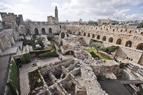 מגדל דוד. צילום: תומר אפלבוים