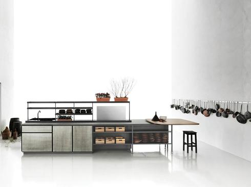 מטבח בעיצובה של פטרישיה אורקיולה ל-Boffi