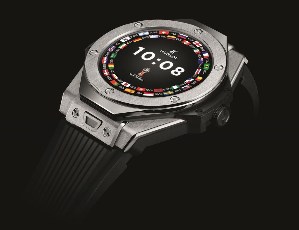 """הובלו - שעון חכם למונדיאל. יח""""צ"""