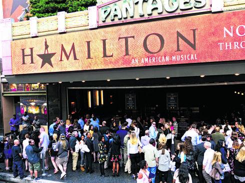 שובר הקופות בברודווי |צילום: shutterstock