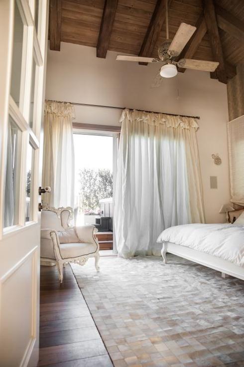 חדר השינה החמים. צילום: גלעד רדט