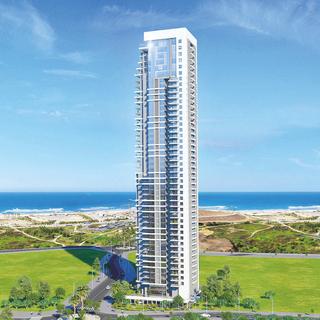 הפרויקט יכולל 206 דירות   הדמיית 'פרי הורייזון': סמי טיטו