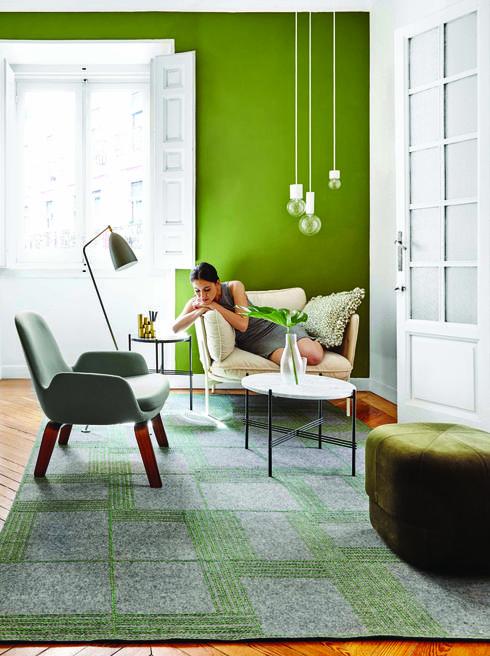 שטיח מבית המותג הספרדי Gan. הביטאט