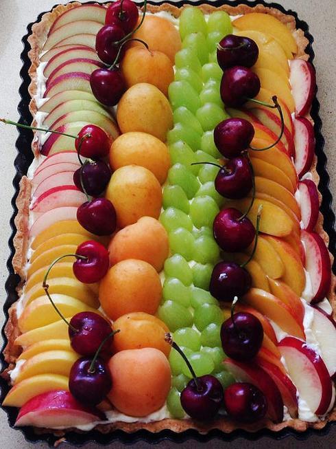 פאי פירות משגע. צילום: אלונה זוהר