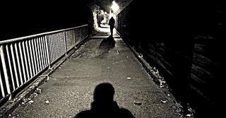 רחוב חשוך. צילום אילוסטרציה