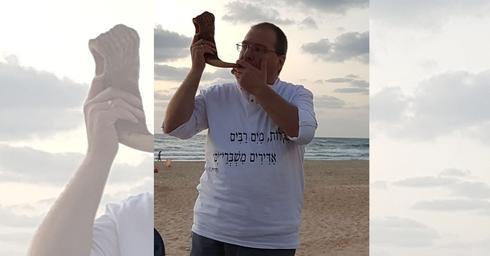 אבי דרדיק, שליח ציבור קהילת ׳תפילת הים׳ |צילום: שרונה בוטנרו