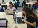כיתה דיגיטלית בתיכון חדש דרכא | צילום: רונית ברכה