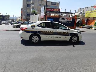 ניידת משטרה. צילום: אדווה חולי