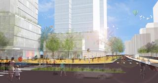הפרויקט שתוכנן | הדמייה: אלונים גורביץ' אדריכלים